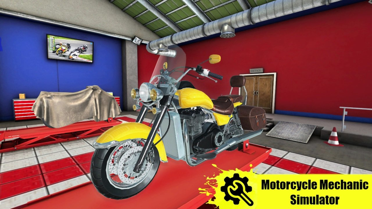 Motorcycle Mechanic Simulator Logo