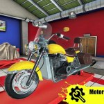 Motorcycle Mechanic Simulator Logo