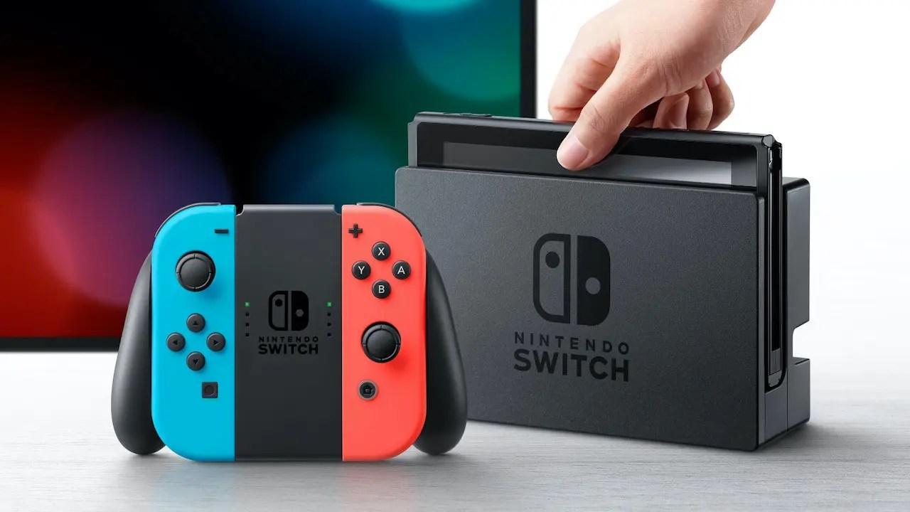 Nintendo Switch Photo