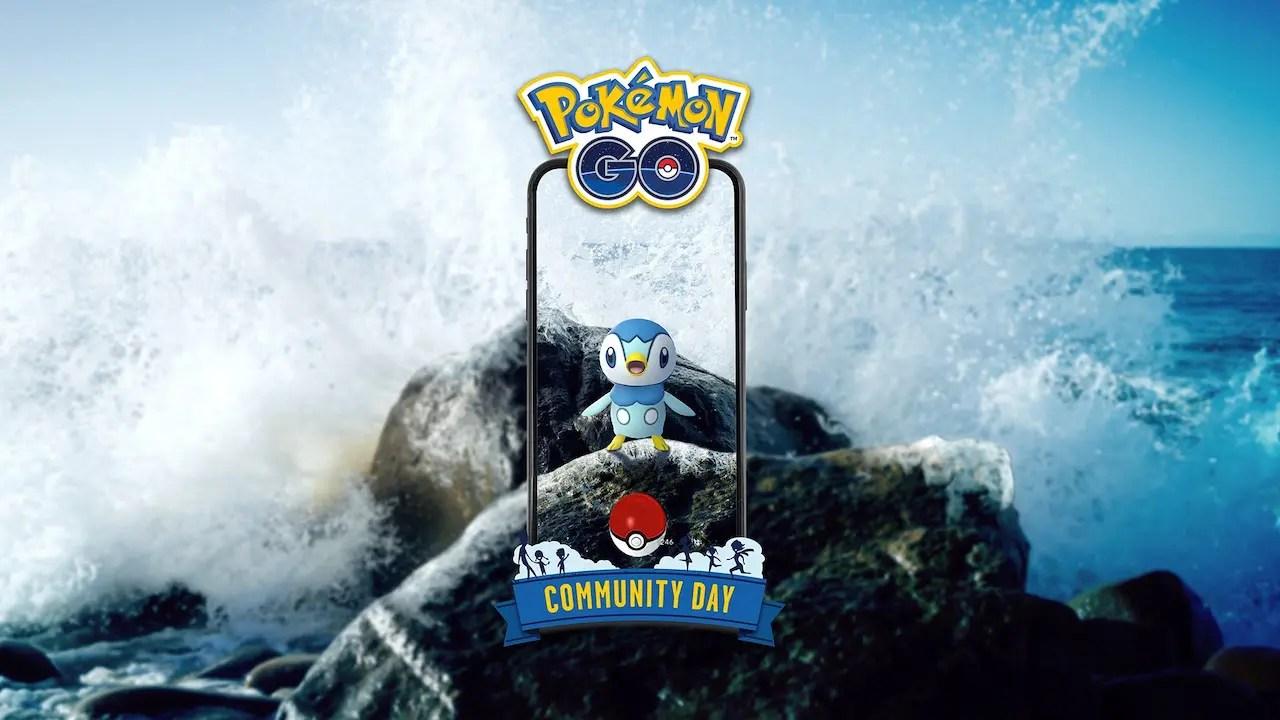 Piplup Pokémon GO Community Day Image