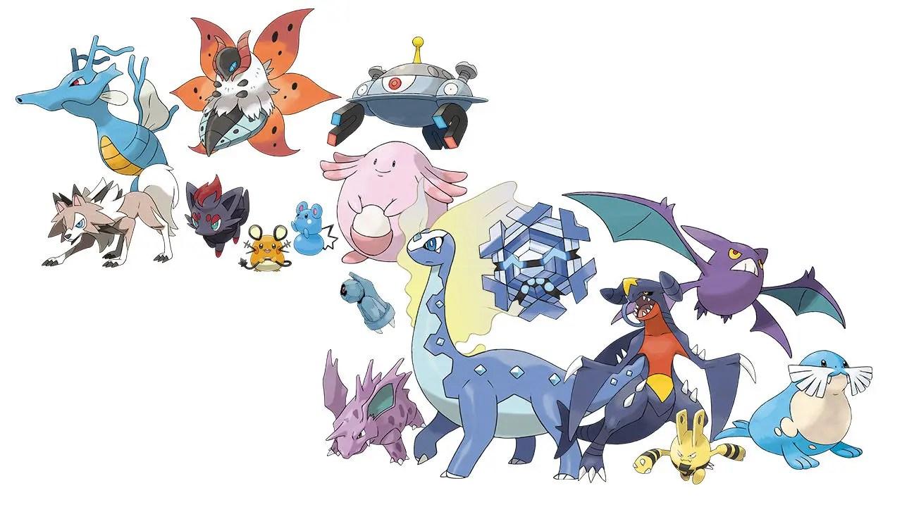 Pokémon Sword and Shield Returning Pokémon Image