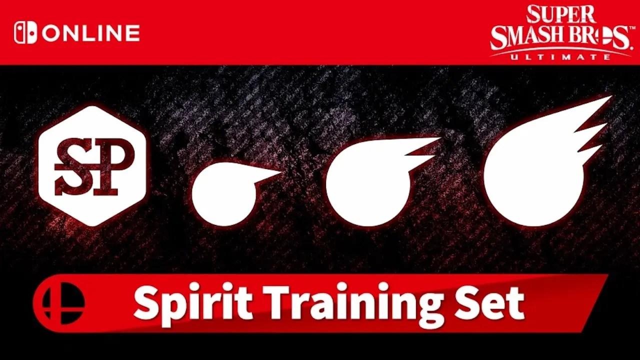 Super Smash Bros. Ultimate Spirit Training Set Logo