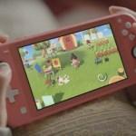Animal Crossing: New Horizons Switch Lite Photo