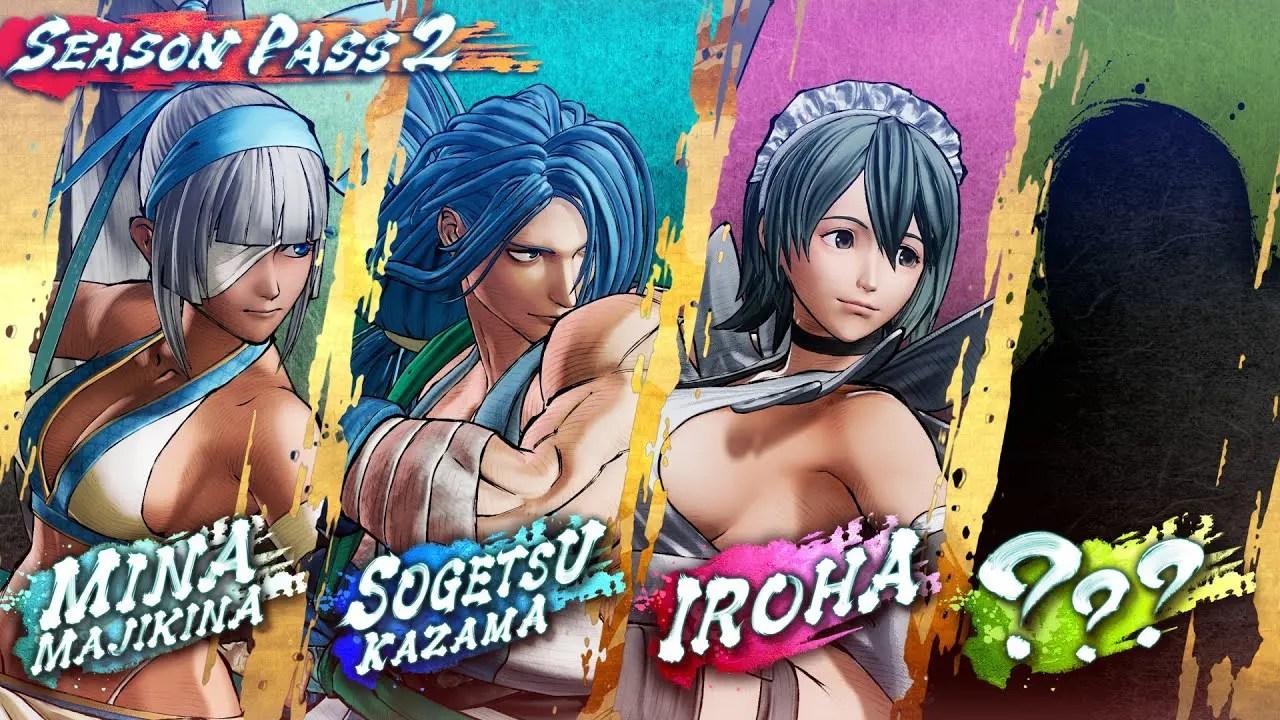 Samurai Shodown Season Pass 2 DLC Characters Screenshot