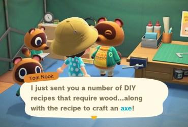 Animal Crossing: New Horizons Axe Screenshot