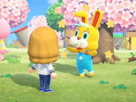 Animal Crossing: New Horizons Bunny Day Screenshot