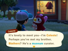 Animal Crossing New Horizons Celeste Screenshot