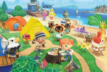 Animal Crossing: New Horizons Multiple Islands Screenshot
