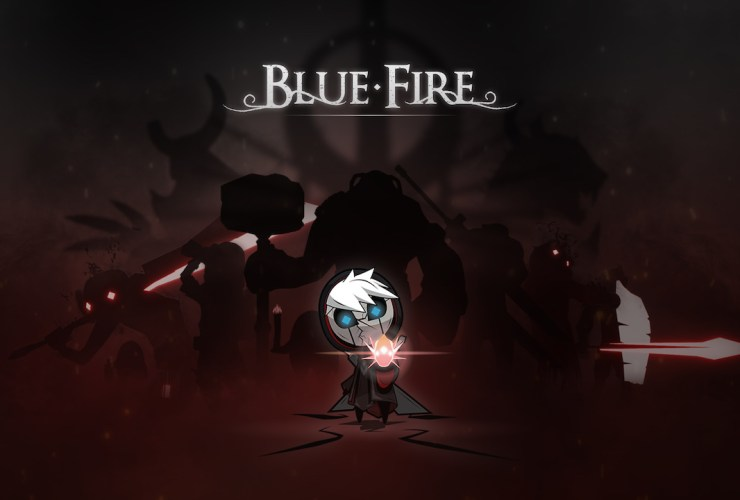 Blue Fire Logo