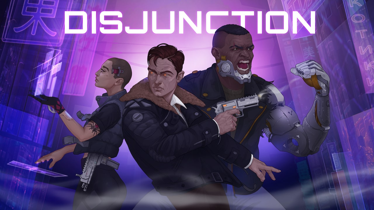 Disjunction Logo