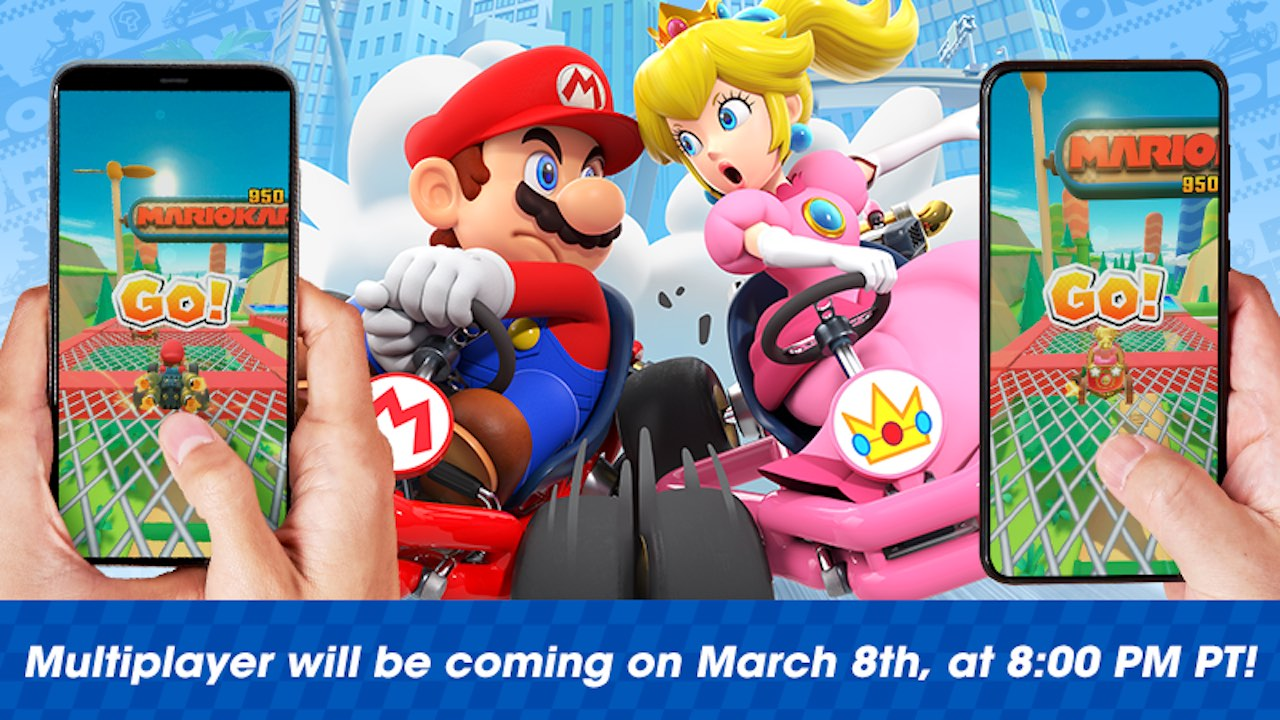 Mario Kart Tour Multiplayer Image