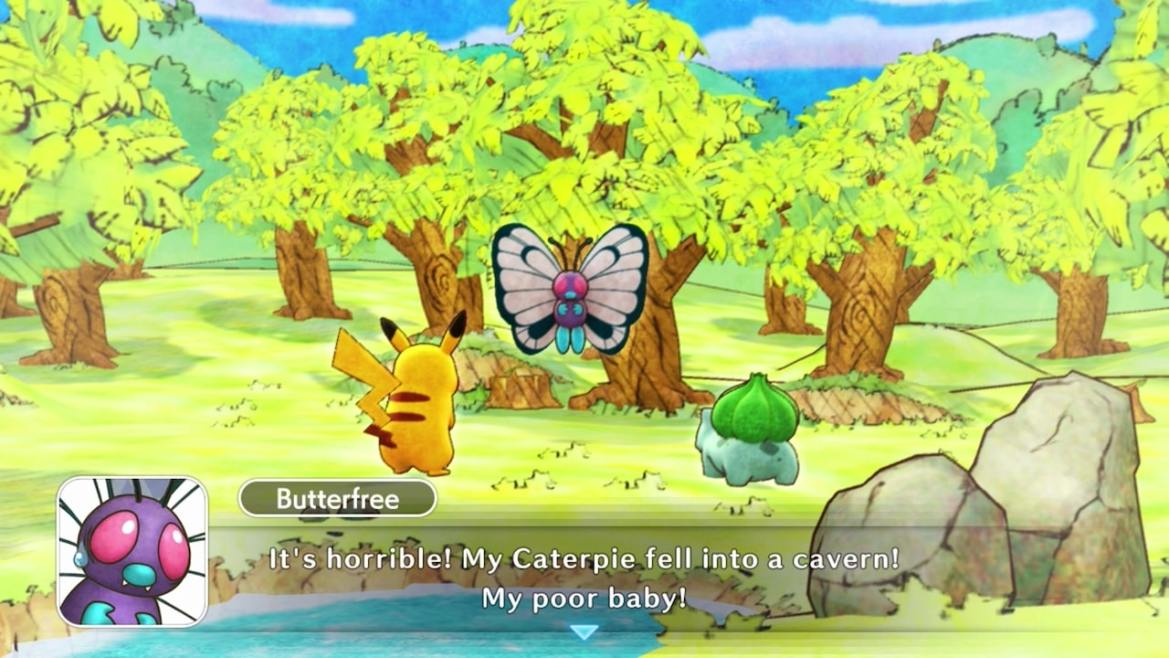 Pokémon Mystery Dungeon: Rescue Team DX Review Screenshot 1