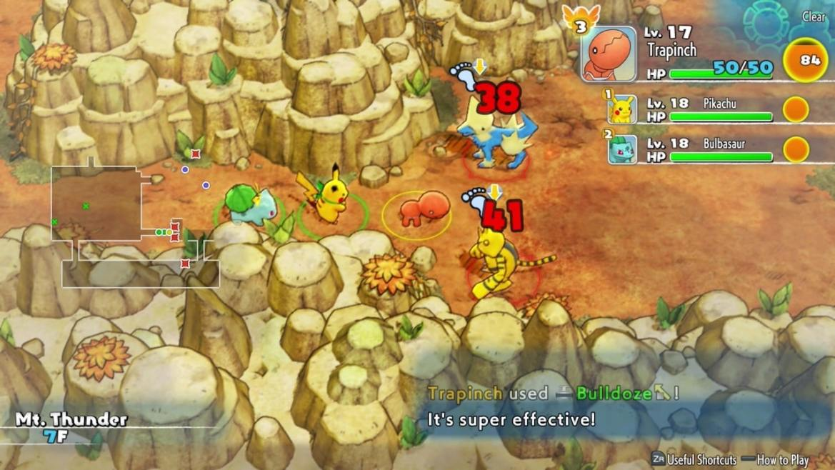 Pokémon Mystery Dungeon: Rescue Team DX Review Screenshot 2