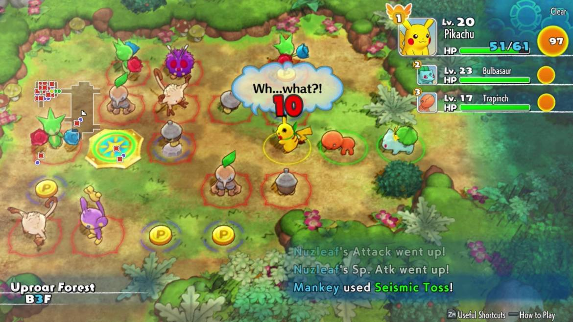 Pokémon Mystery Dungeon: Rescue Team DX Review Screenshot 4