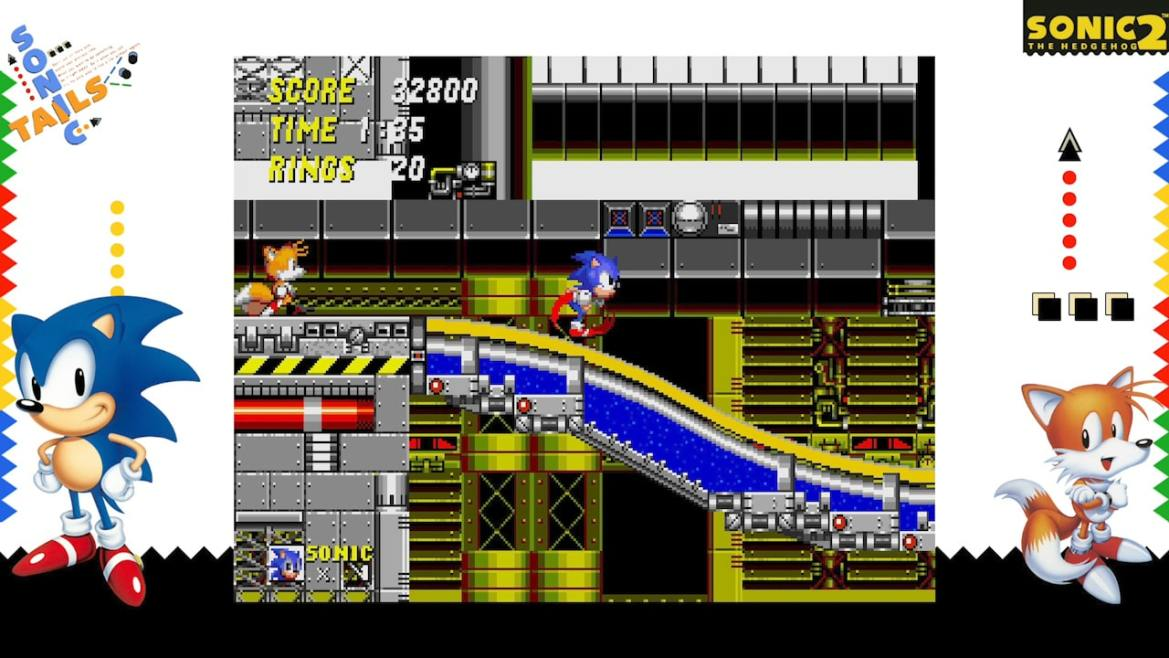 SEGA AGES Sonic The Hedgehog 2 Review Screenshot 1