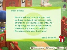 Animal Crossing: New Horizons Bank Of Nook Screenshot