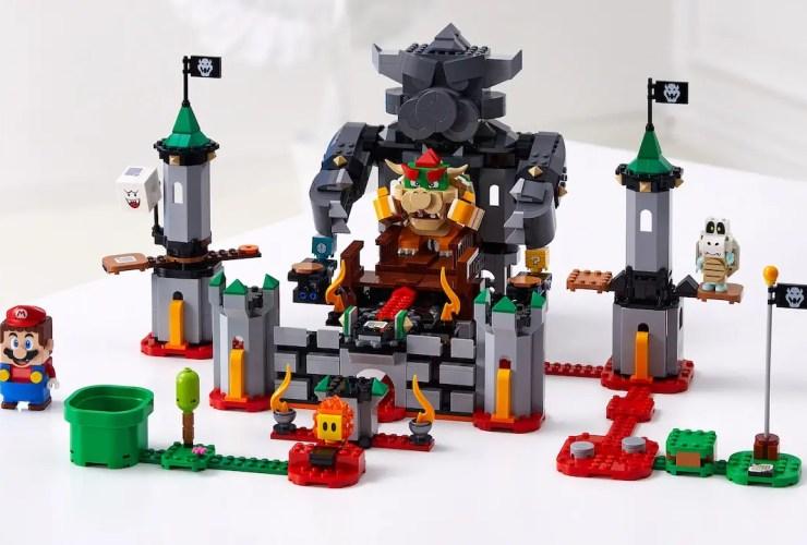 LEGO Super Mario Bowser's Boss Battle Expansion Set Photo