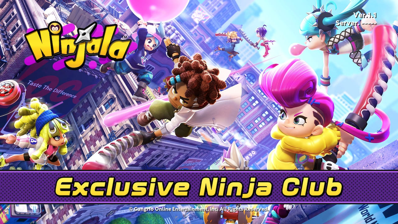 Ninjala Open Beta Screenshot