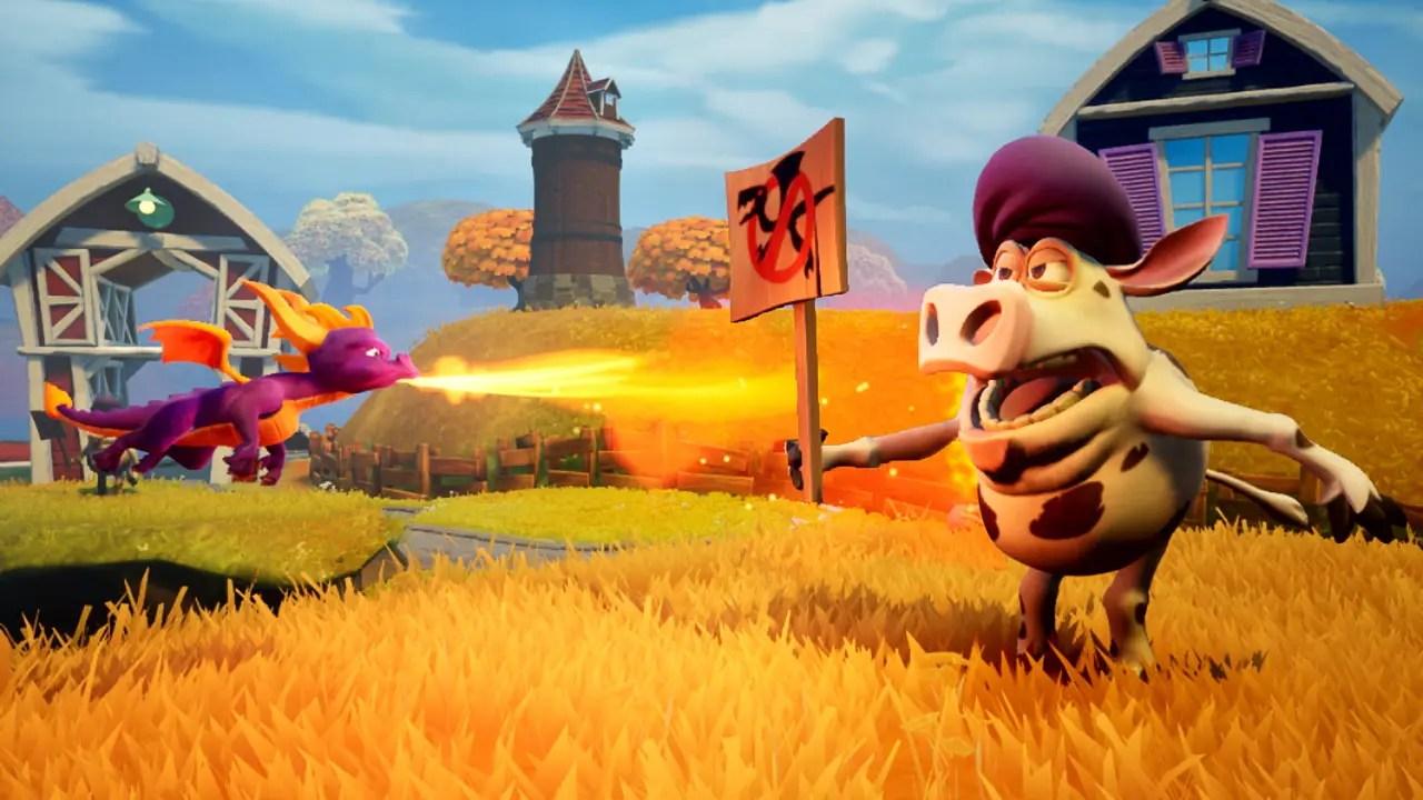 Spyro Reignited Trilogy Review Screenshot 2