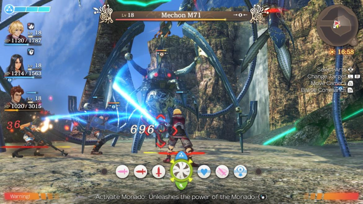 Xenoblade Chronicles: Definitive Edition Review Screenshot 3