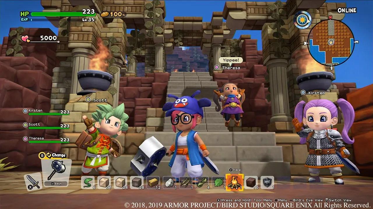 Dragon Quest Builders 2 Review Screenshot 3