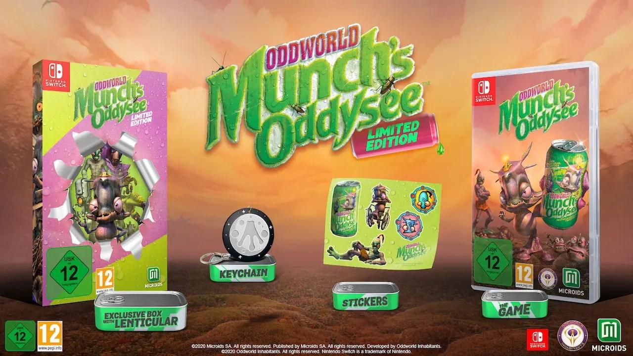Oddworld: Munch's Oddysee Limited Edition Photo