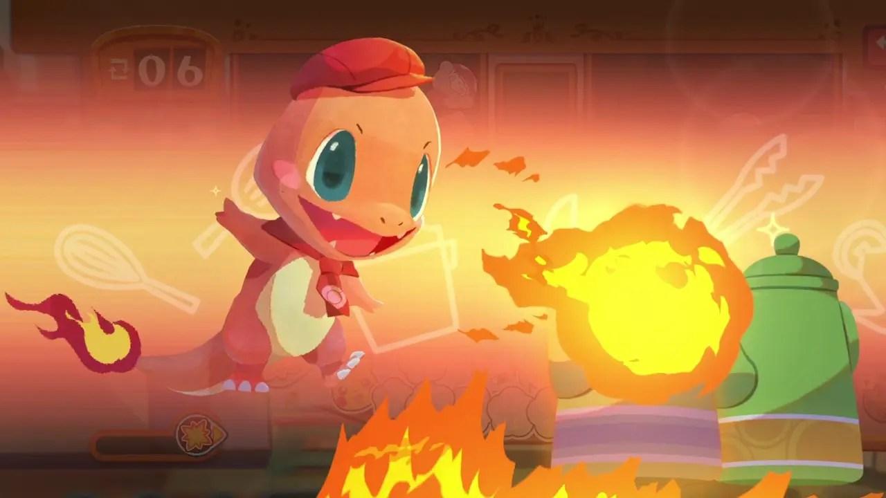 Pokémon Café Mix Screenshot