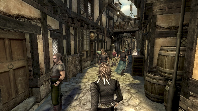 The Last Story Review Screenshot 2