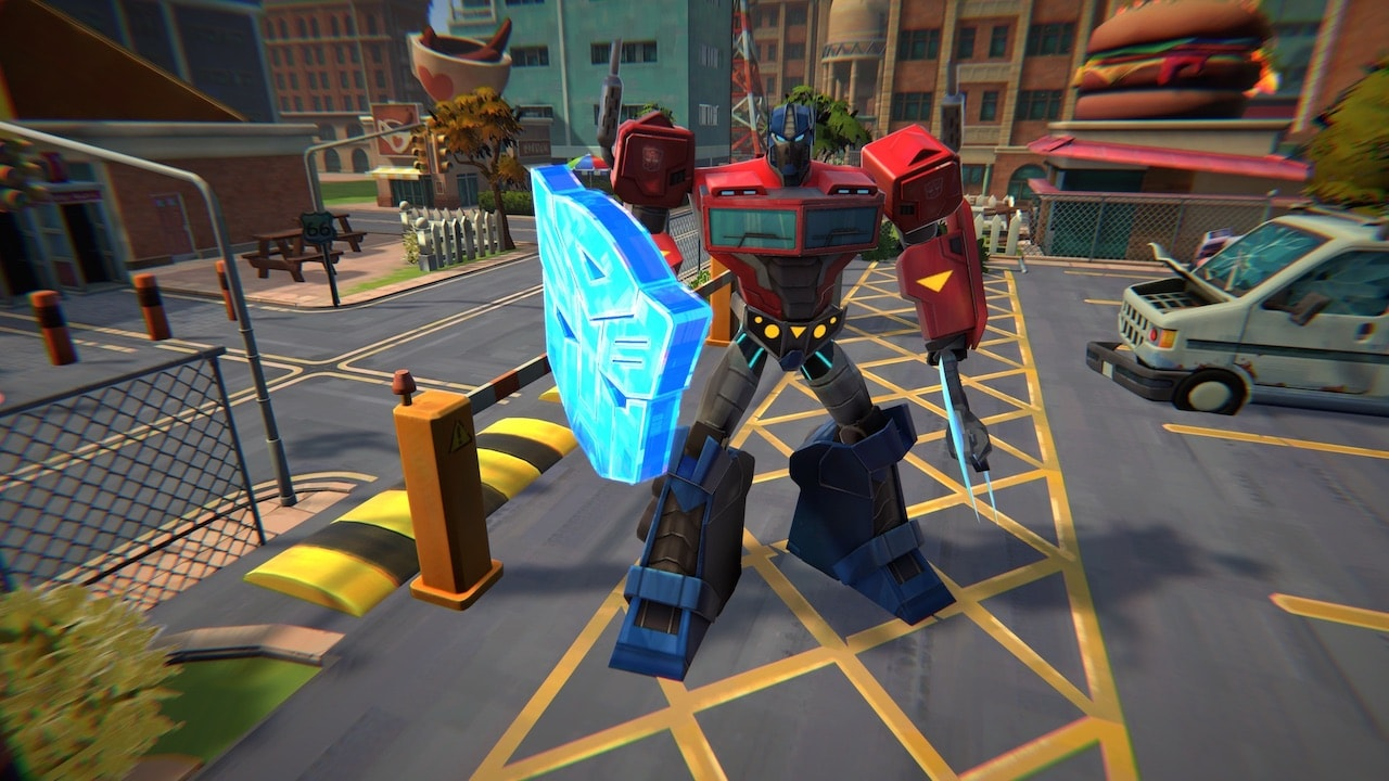 Transformers: Battlegrounds Screenshot