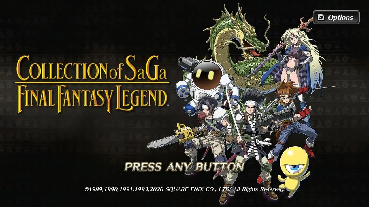Collection Of SaGa Final Fantasy Legend Screenshot