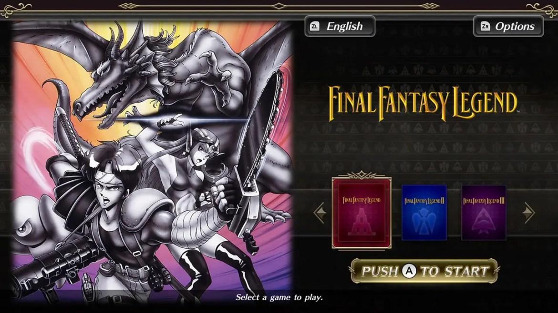 Collection Of SaGa Final Fantasy Legend Screenshot 1