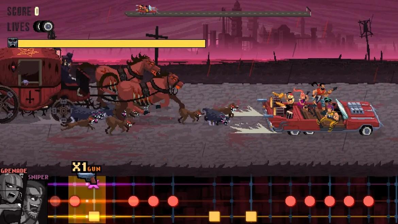 Double Kick Heroes Review Screenshot 3