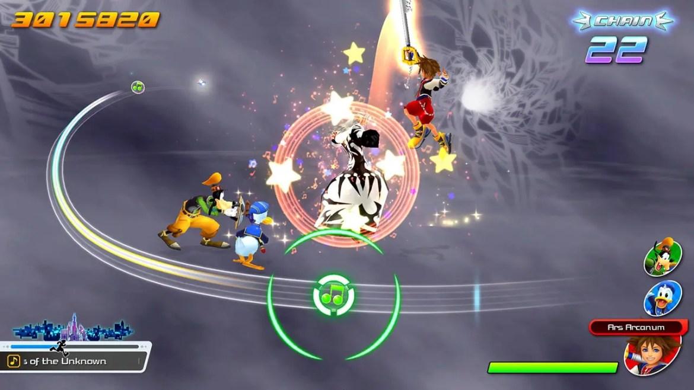 Kingdom Hearts: Melody of Memory Screenshot 1