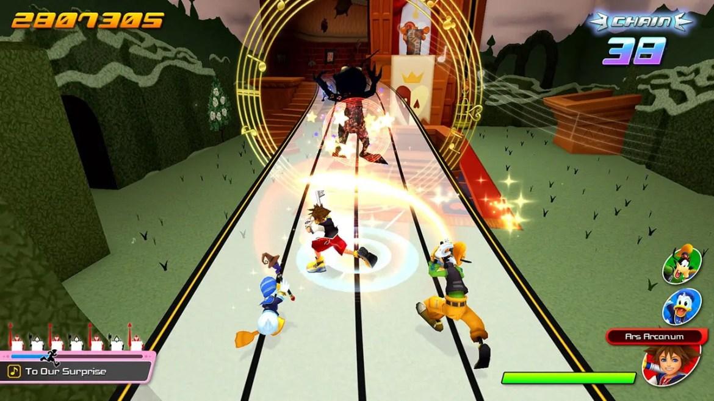 Kingdom Hearts: Melody of Memory Screenshot 2