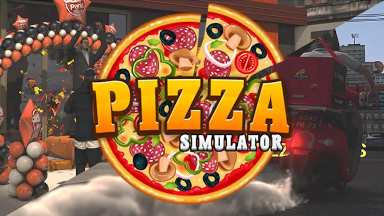 Pizza Simulator Logo