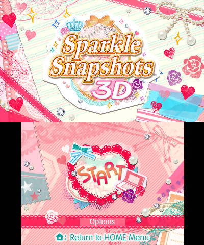 Sparkle Snapshots 3D Review Screenshot 1