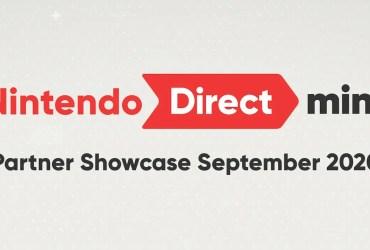 Nintendo Direct Mini: Partner Showcase September 2020 Logo