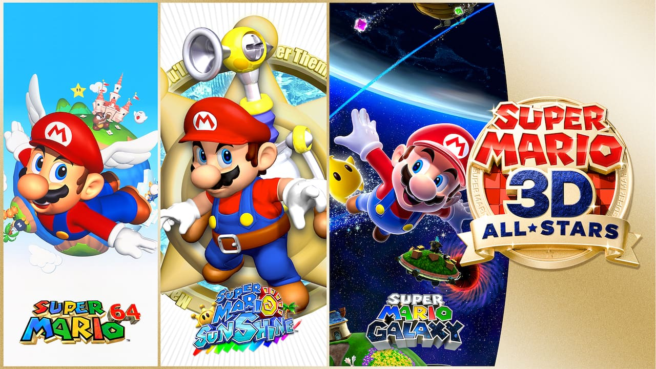 Super Mario 3D All-Stars Logo