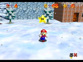 Super Mario 64 Cool, Cool Mountain Screenshot 1