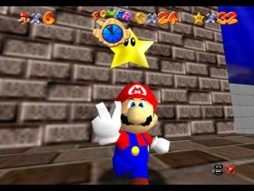 Super Mario 64 Wet-Dry World Screenshot 1
