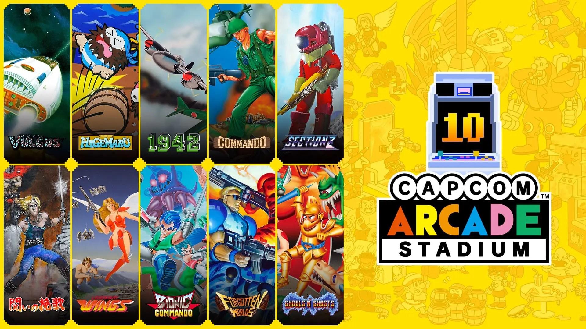 Capcom Arcade Stadium Pack 1 Image
