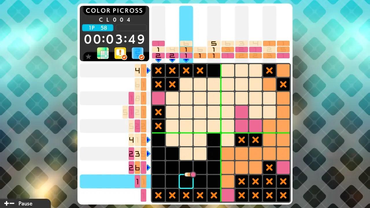 Picross S5 Review Screenshot 3