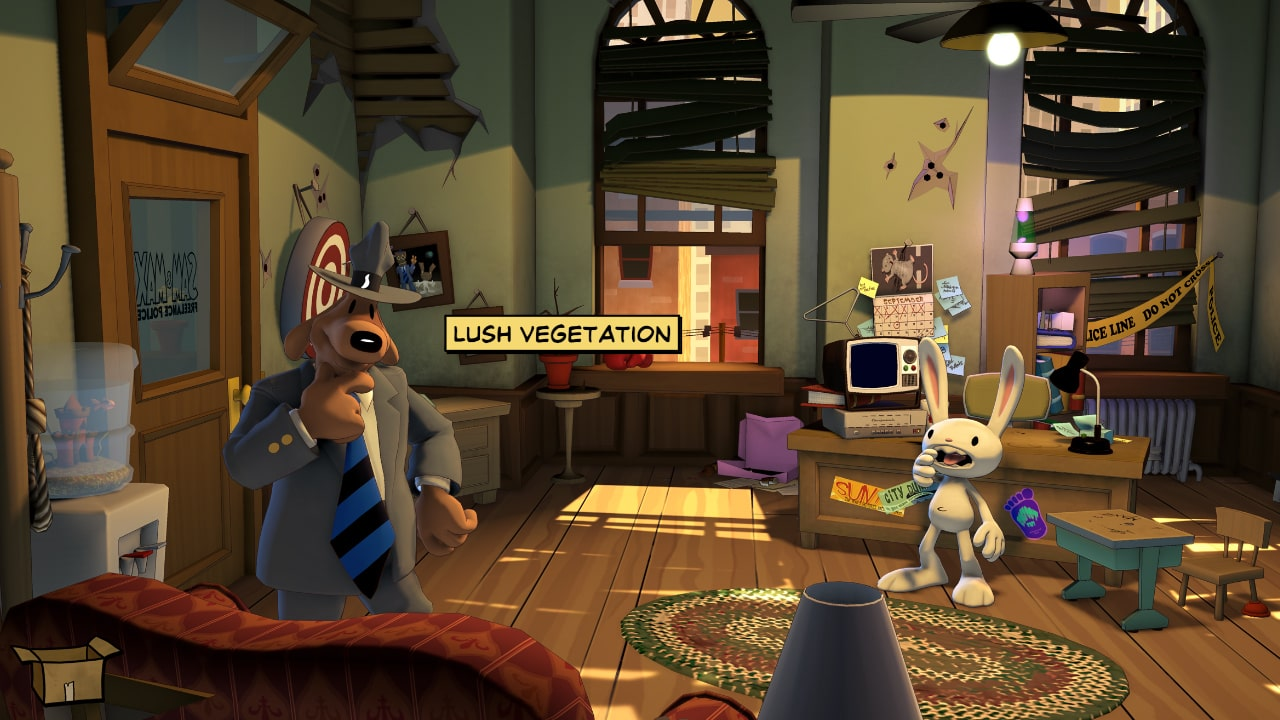 Sam And Max Save The World Remastered Review Screenshot 2