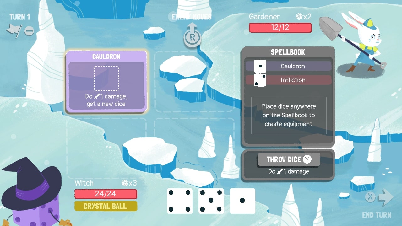 Dicey Dungeons Review Screenshot 2