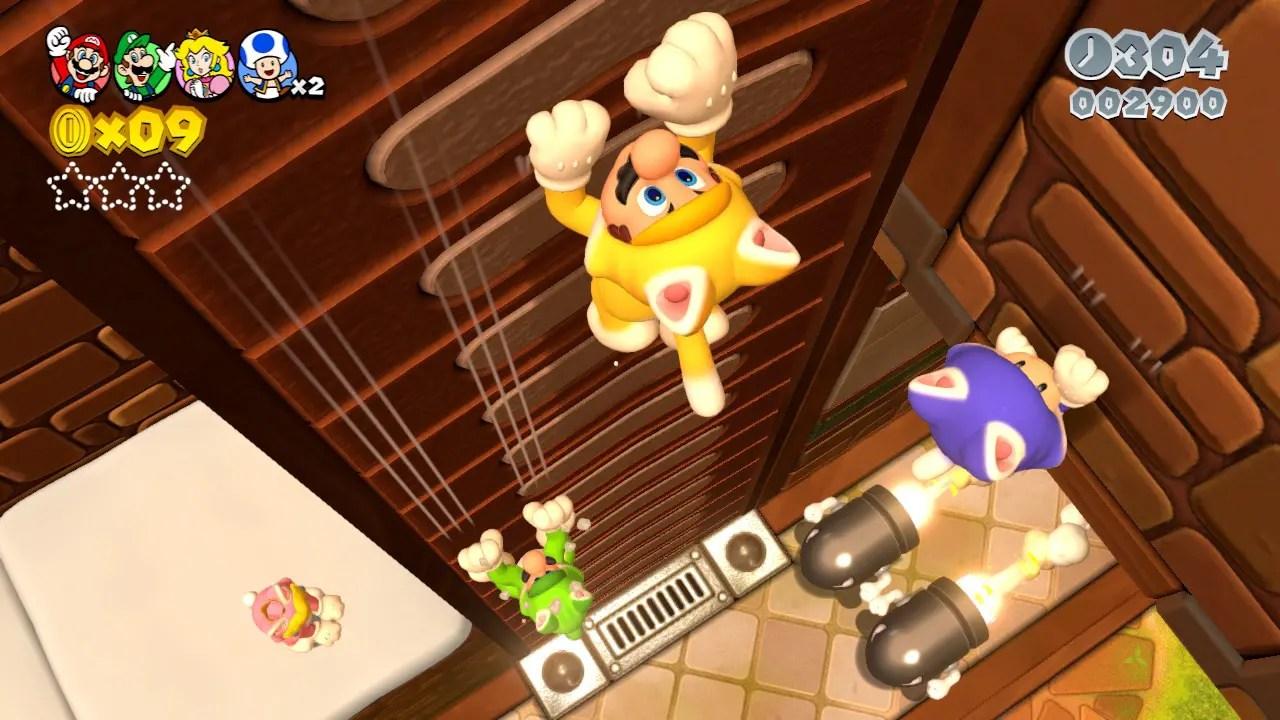 Super Mario 3D World Review Screenshot 1