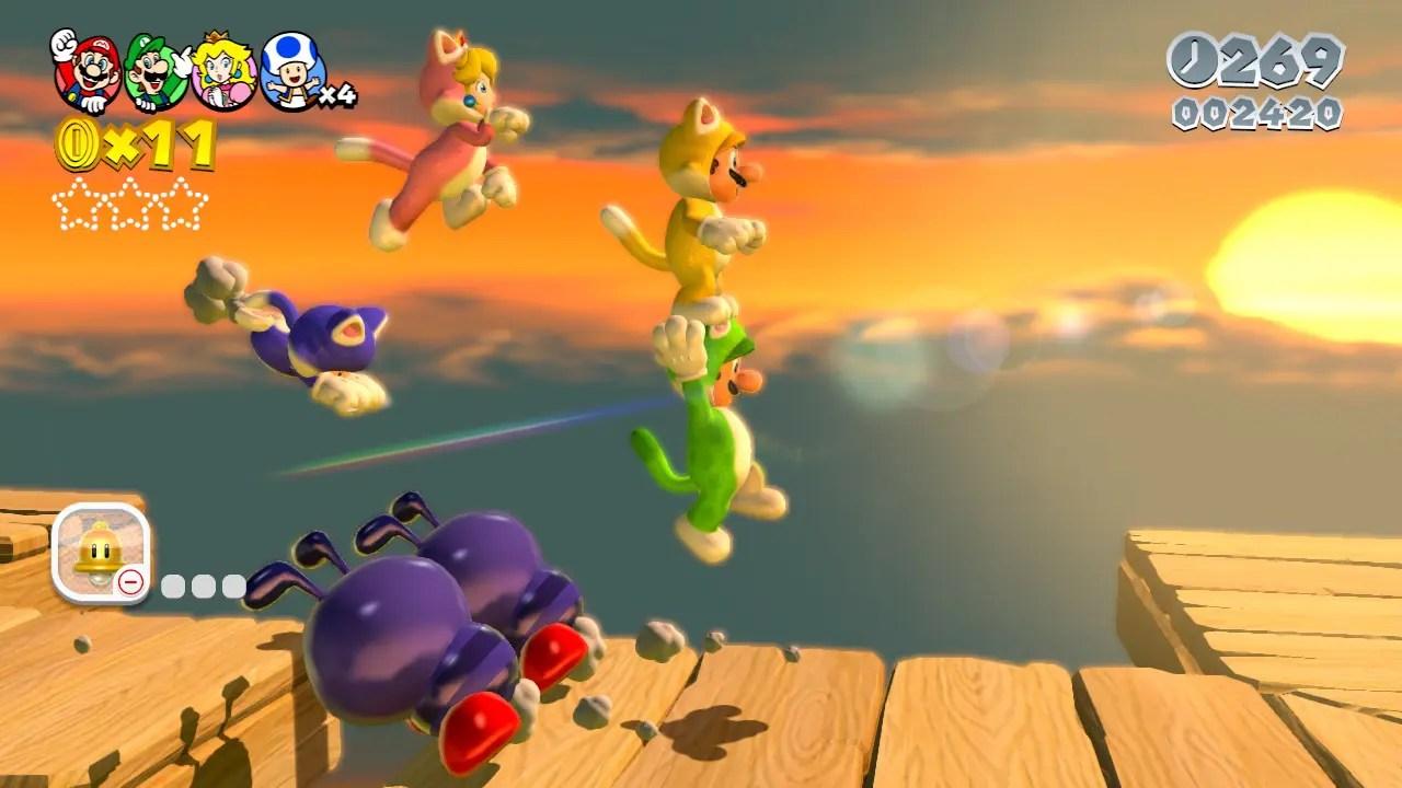 Super Mario 3D World Review Screenshot 2