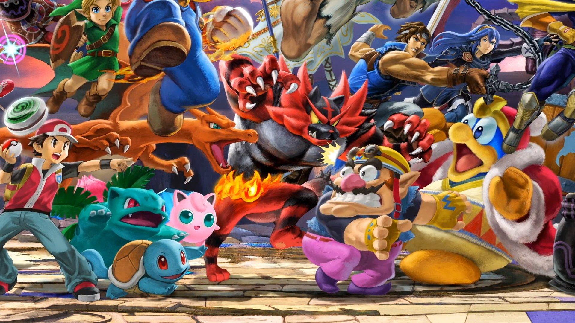 Super Smash Bros Ultimate Nintendo Townfr