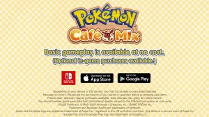 Pokemon Café Mix