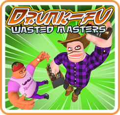 Drunk-Fu: Wasted Masters Box Art