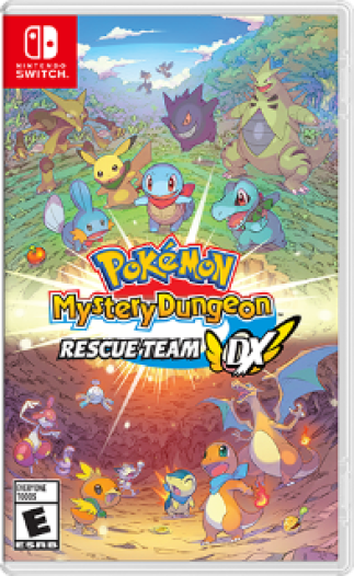 Pokémon Mystery Dungeon™: Rescue Team DX Box Art